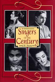 Cover of: Singers of the Century, Volume I (Singers of the Century)