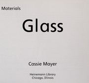 Cover of: Glass | Cassie Mayer