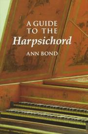 Cover of: A Guide to the Harpsichord