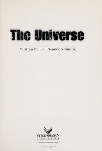 The universe by Gail Saunders-Smith