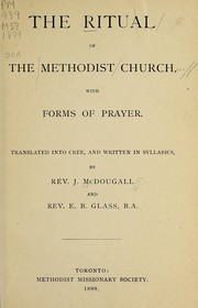 Cover of: The ritual of the Methodist Church | Methodist Church (Canada)