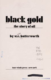 Cover of: Black gold | W. E. Butterworth
