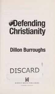 Cover of: Undefending Christianity | Dillon Burroughs