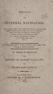 Cover of: A treatise on internal navigation