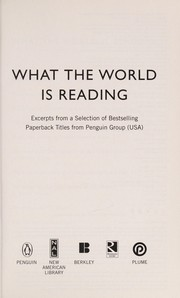 Cover of: What the world is reading
