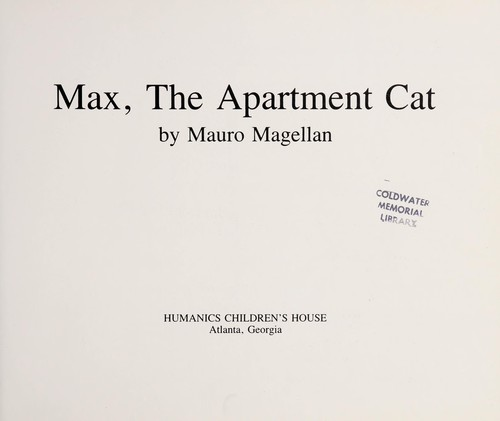 Max, the apartment cat by Mauro Magellan