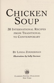 Cover of: Chicken soup | Linda Zimmerman