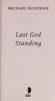 Cover of: Last God standing | Michael Boatman