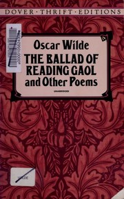 Cover of: The ballad of Reading Gaol and other poems