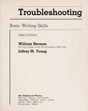 Cover of: Troubleshooting | William Herman