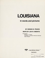 Cover of: Louisiana in words and pictures