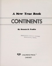 Cover of: Continents