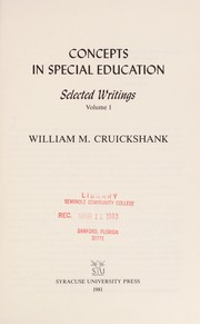 Cover of: Selected writings
