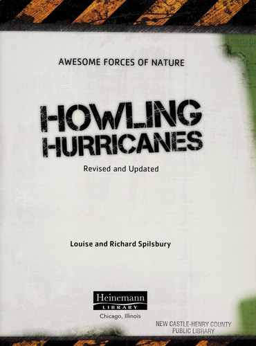 Howling hurricanes by Louise Spilsbury
