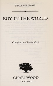 Cover of: Boy in the world