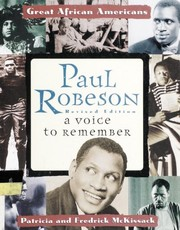 Cover of: Paul Robeson | Pat McKissack