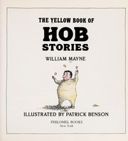 Cover of: The yellow book of Hob stories