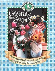 Cover of: Gooseberry Patch Celebrate the Seasons | Leisure Arts