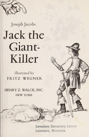 Cover of: Jack the Giant-Killer