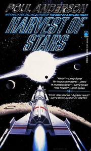 Cover of: Harvest of stars: Poul Anderson.