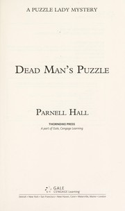 Cover of: Dead man's puzzle: a Puzzle Lady mystery