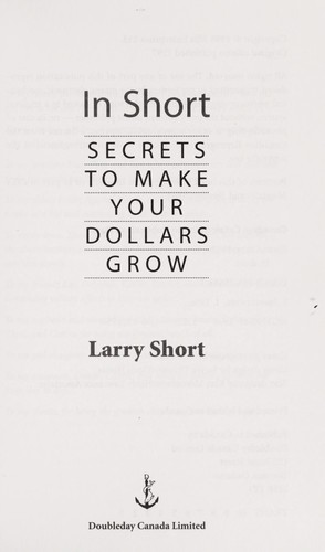 In short by Larry Short