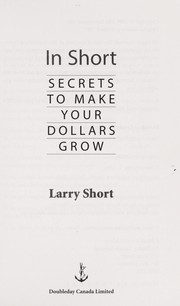 Cover of: In short | Larry Short