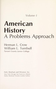 Cover of: American history | Herman L. Crow