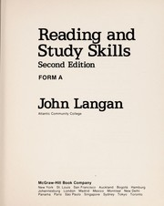 Cover of: Reading and study skills | John Langan
