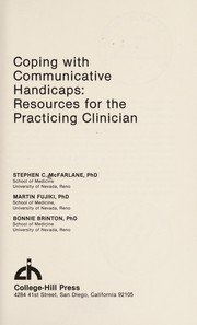 Cover of: Coping with communicative handicaps | Stephen C. McFarlane