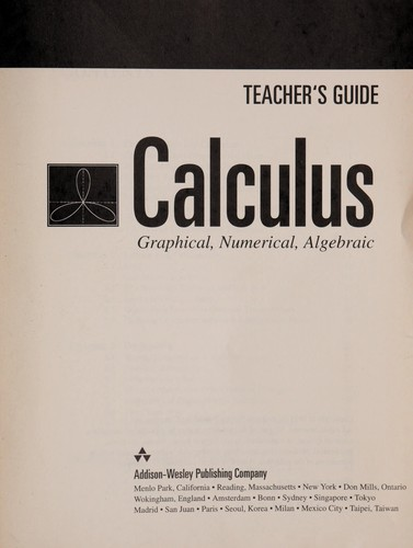 Calculus by