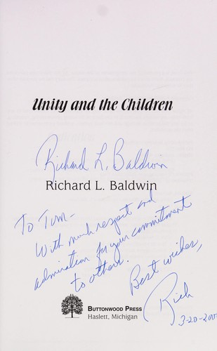 Unity and the children by Richard L. Baldwin