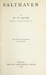 Cover of: Salthaven | W. W. Jacobs