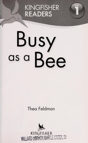 Cover of: Busy as a bee