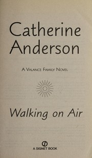 Cover of: Walking on air | Catherine Anderson