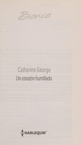 Un corazon humillado by Catherine George