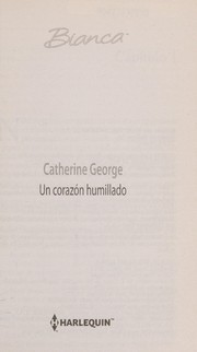Cover of: Un corazon humillado | Catherine George