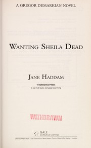 Cover of: Wanting Sheila dead