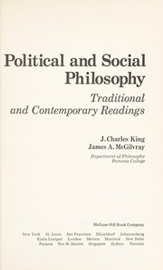 Cover of: Political and social philosophy | Jessie Charles King