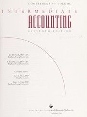 Cover of: Intermediate accounting | Jay M. Smith