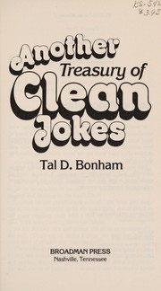Cover of: Another treasury of clean jokes | Tal D. Bonham