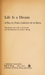 Cover of: Life's a dream