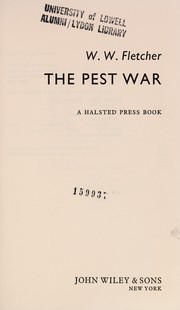 Cover of: The pest war | William Whigham Fletcher