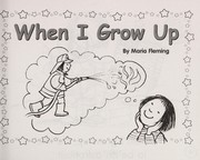 Cover of: When I grow up | Maria Fleming