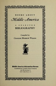 Cover of: Books about middle America