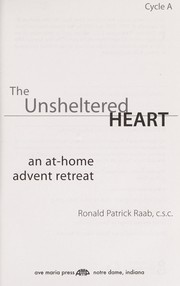 Cover of: The unsheltered heart