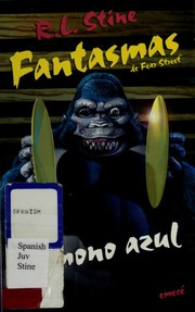 Cover of: El mono azul | R. L. Stine