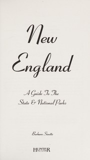 Cover of: New England | Barbara Sinotte