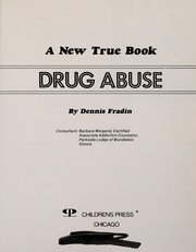 Cover of: Drug abuse