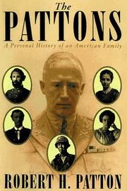 Cover of: The Pattons | Robert H. Patton